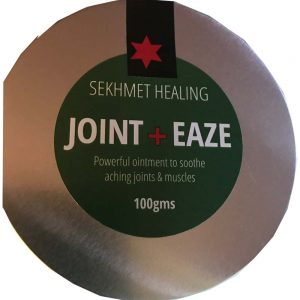 Joint Eaze Cannabis Root balm for the relief of sore joints, arthritis,frozen shoulder, sciatica and rheumatism